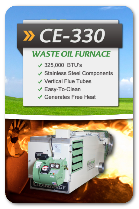 clean burn waste oil heater manual